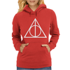 DEATHLY HALLOWS TRIANGLE Womens Hoodie