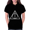 DEATHLY HALLOWS TRIANGLE Womens Polo