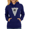 Deep into your Mind - Shirt Womens Hoodie