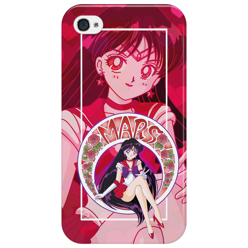 Deep Red Phone Case
