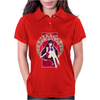 Deep Red Womens Polo