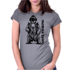 Deep Sea Bear Womens Fitted T-Shirt