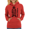 Deep Sea Bear Womens Hoodie