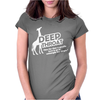 Deep Throat Womens Fitted T-Shirt