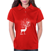 Deer and Bird Womens Polo