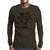 Deer-Birds Mens Long Sleeve T-Shirt