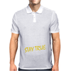 DEEZ NUTS STAY TRUE Mens Polo