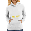 DEEZ NUTS STAY TRUE Womens Hoodie
