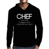 Definition of a Chef - Funny Mens Hoodie
