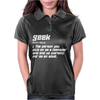Definition Of A Geek Womens Polo