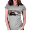 DeLorean History Womens Fitted T-Shirt
