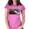 DeLorean_art Womens Fitted T-Shirt