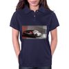 DeLorean_art Womens Polo