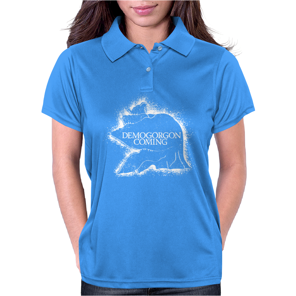 Demogorgon Is Coming Womens Polo