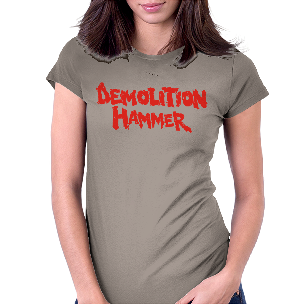 Demolition Hammer Womens Fitted T-Shirt