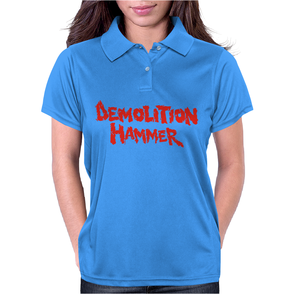 Demolition Hammer Womens Polo