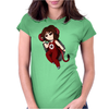 Demon Danny - Chibi Womens Fitted T-Shirt