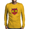 Demon Skull Mens Long Sleeve T-Shirt