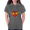 Demon Skull Womens Polo