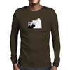 Demon Wolf Mens Long Sleeve T-Shirt