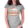 Denver Broncos Super Bowl 50 Fifty Champions Womens Fitted T-Shirt