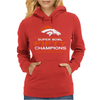 Denver Broncos Super Bowl 50 Fifty Champions Womens Hoodie