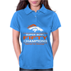 Denver Broncos Super Bowl 50 Fifty Champions Womens Polo