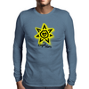 Der Engel Herz Mens Long Sleeve T-Shirt