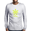 Der Engel Herz YLW Mens Long Sleeve T-Shirt