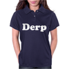 Derp Womens Polo