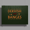 Dervish and Banges Sign Poster Print (Landscape)