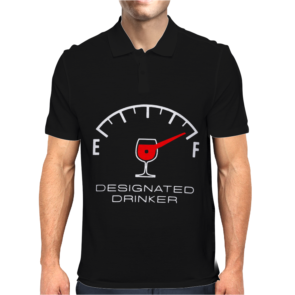 Designated Drinker Mens Polo