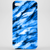 Designer Camo in Blue Phone Case