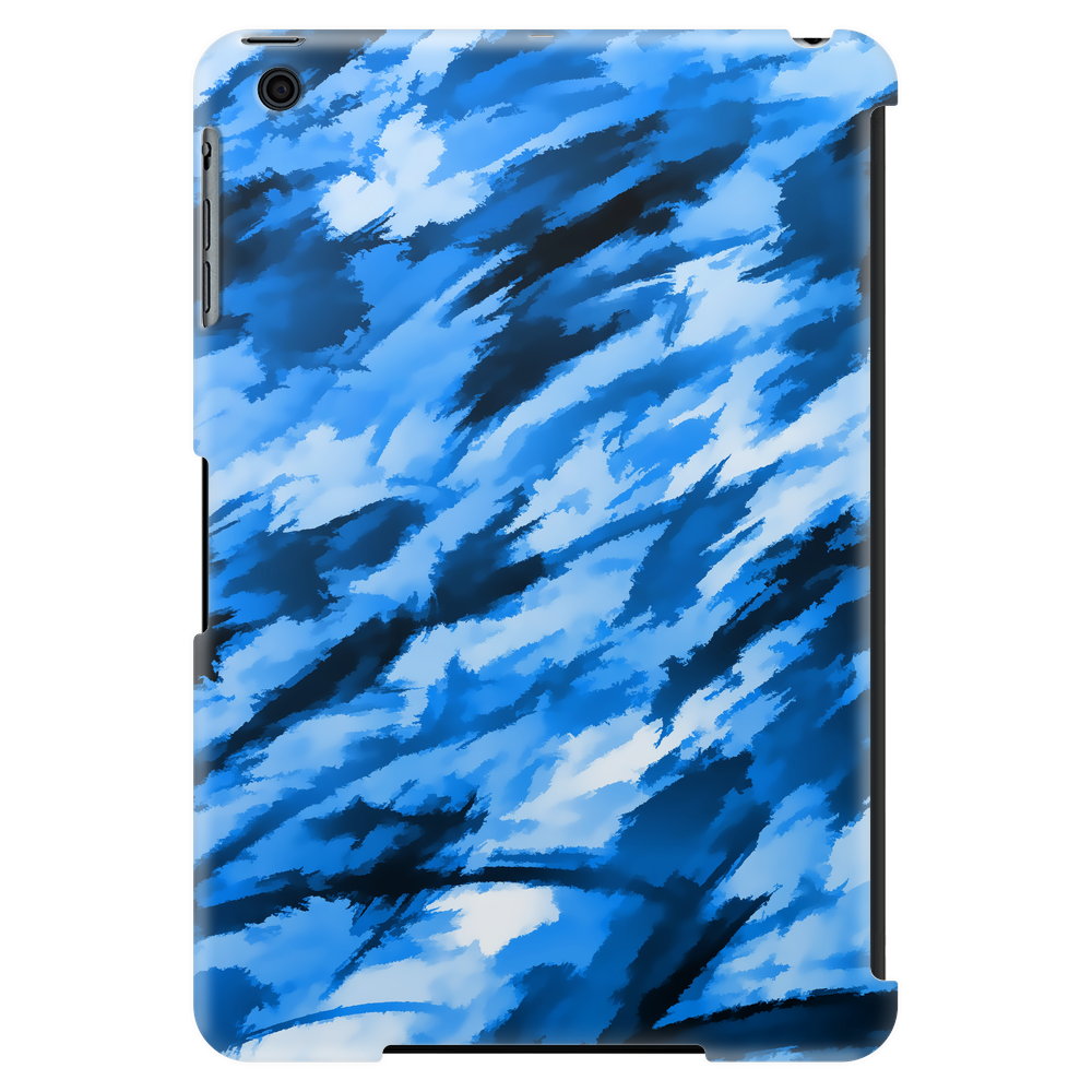 Designer Camo in Blue Tablet (vertical)