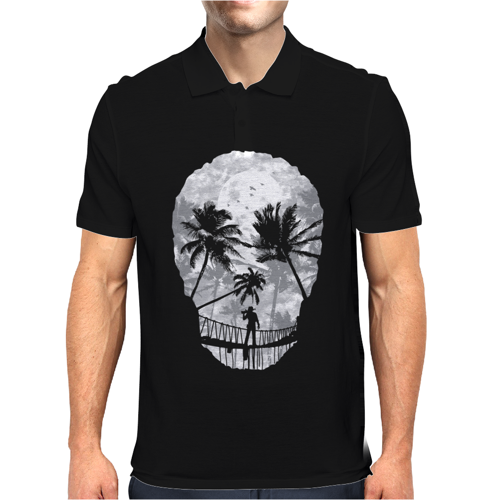 Desolate Death Mens Polo