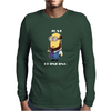 Despicable Just Thinking Minion T-Shirt Funny Cool Geek Free Shipping Gildan Mens Long Sleeve T-Shirt