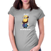 Despicable Just Thinking Minion T-Shirt Funny Cool Geek Free Shipping Gildan Womens Fitted T-Shirt
