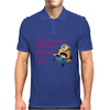 DESPICABLE ME 2 ONE EYE GOTS MAD MINION SKILLS WOMENS Mens Polo