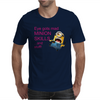 DESPICABLE ME 2 ONE EYE GOTS MAD MINION SKILLS WOMENS Mens T-Shirt