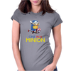 Despicable Me 2 One in a Minion America Hitman T-Shirt Movie Men Womens Fitted T-Shirt