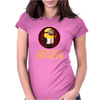 Despicable Me 2 One in a Minion America Hitman Womens Fitted T-Shirt