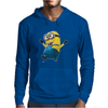 Despicable Me 2 Strolling Minion Movie Licensed Adult Mens Hoodie