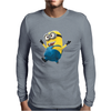 Despicable Me 2 Strolling Minion Movie Licensed Adult Mens Long Sleeve T-Shirt