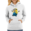 Despicable Me 2 Strolling Minion Movie Licensed Adult Womens Hoodie