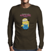 Despicable Me Awesome Minion Mens Long Sleeve T-Shirt