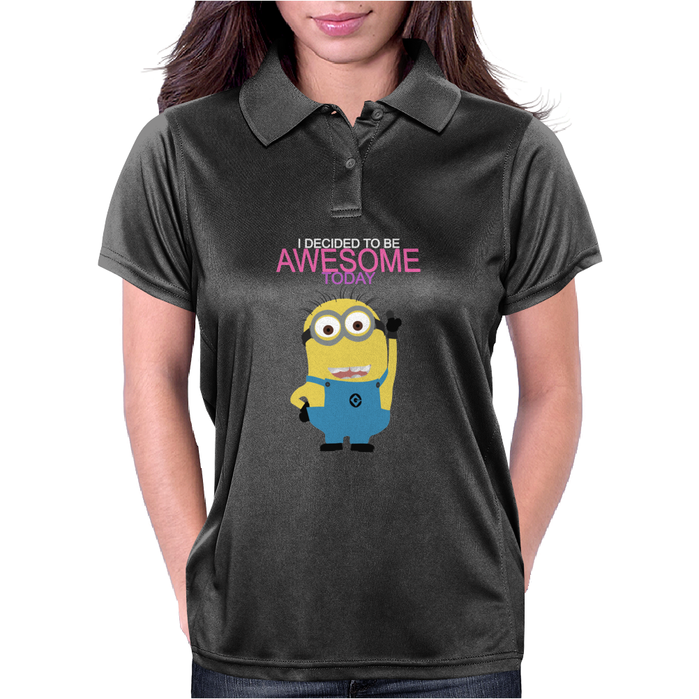 Despicable Me Awesome Minion Womens Polo