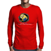 Despicable Me Lazy Minion Mens Long Sleeve T-Shirt