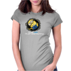 Despicable Me Lazy Minion Womens Fitted T-Shirt