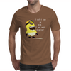 Despicable Me Lose My Mind Minion Mens T-Shirt