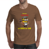 Despicable Me Minion Awesome Agree Or Die Mens T-Shirt